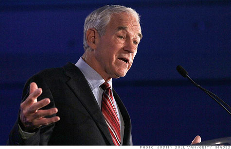 Ron Paul introduced a bill that would require the Fed to manually audit every U.S.-owned gold bar.